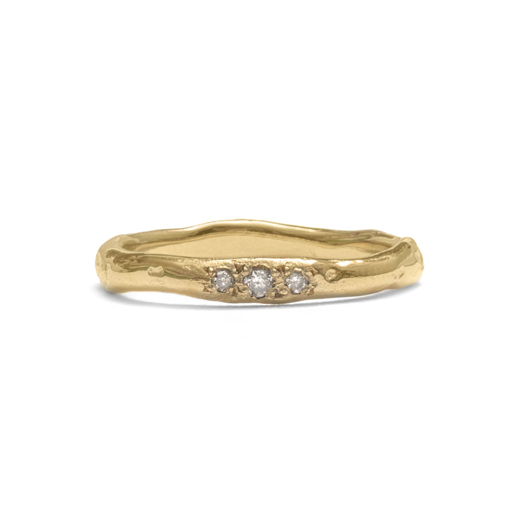 Diamond Flow Ring