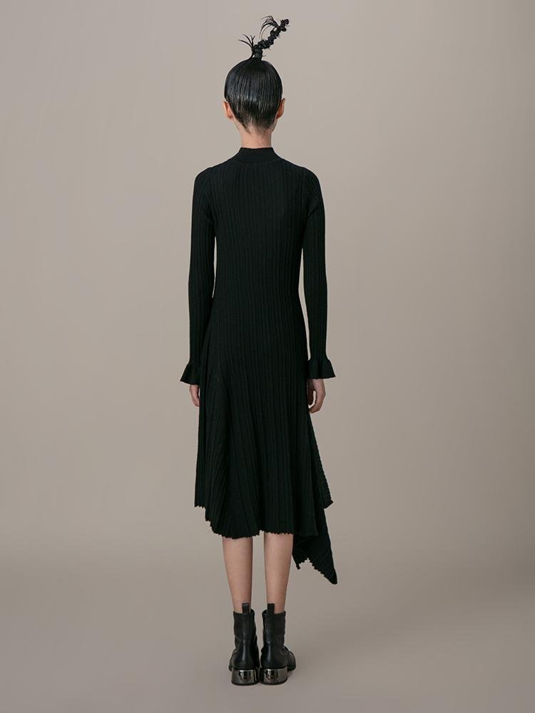 Asymmetrical Dress - BLANCORE