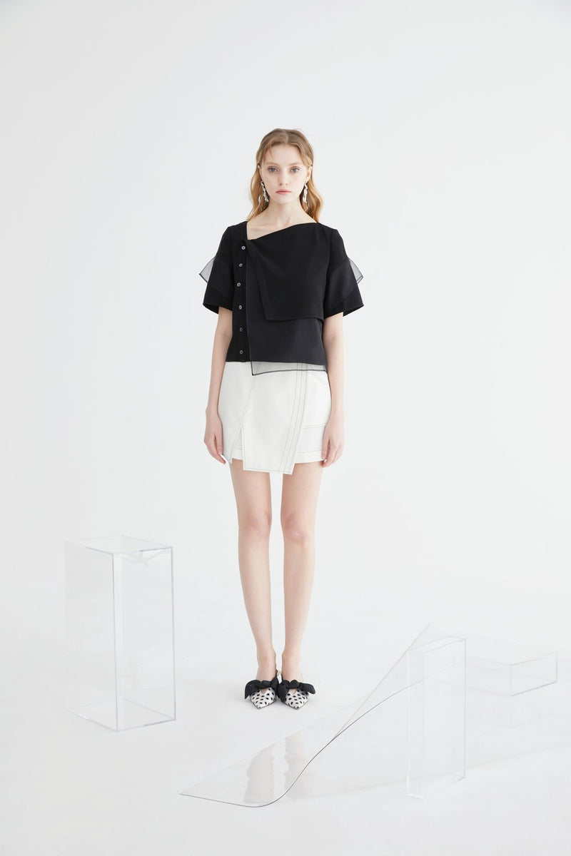 Asymmetrical Short - BLANCORE