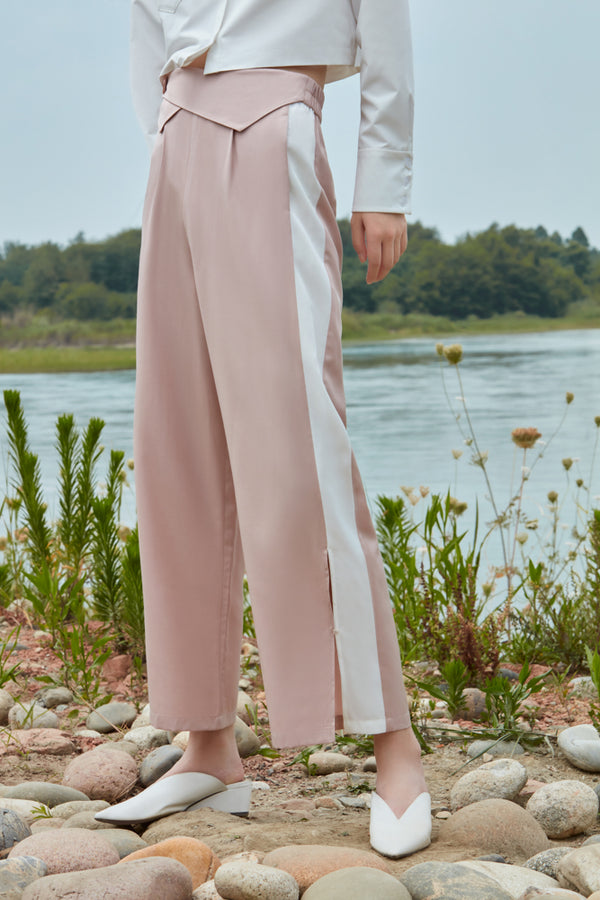 PLEATED WAIST TROUSER