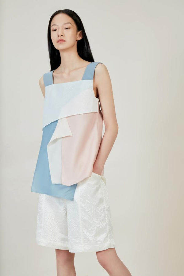 Color Block Vest - BLANCORE