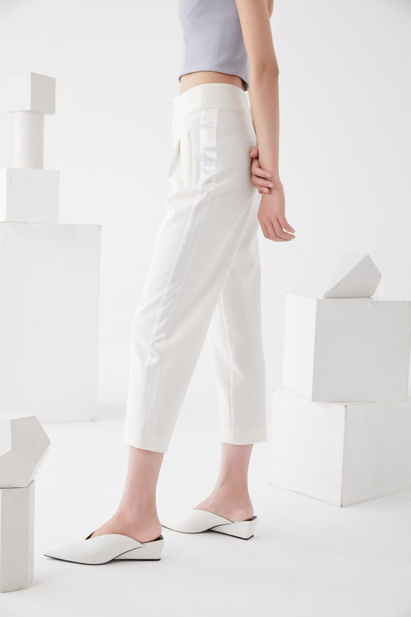 Contract Block Trouser - BLANCORE