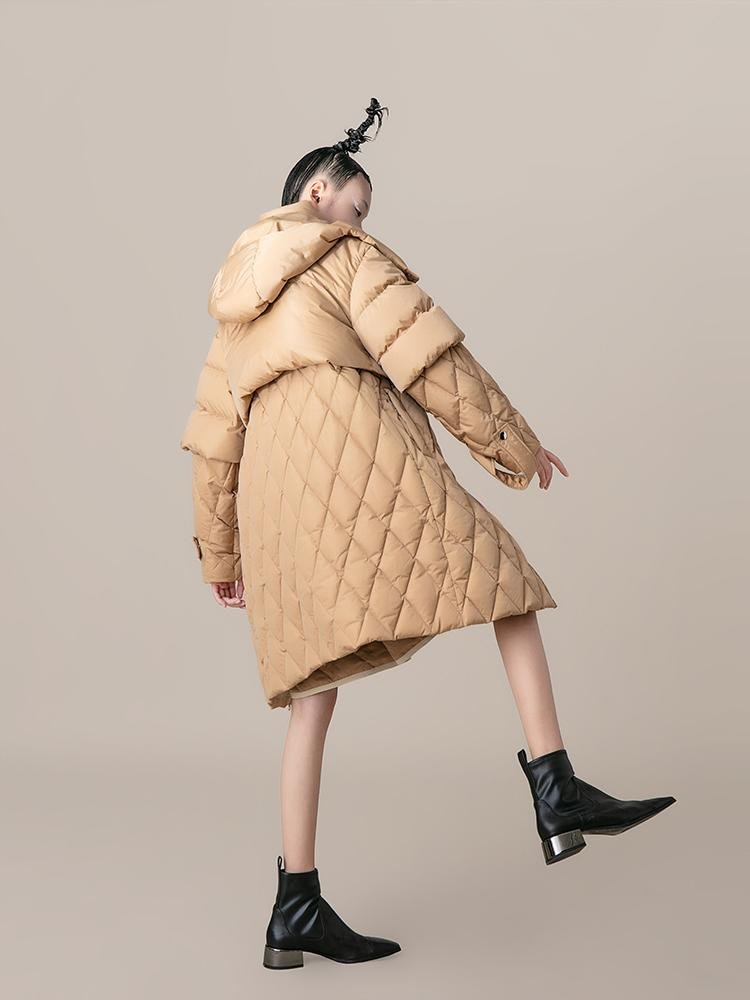 Double Layer Puffer Coat - BLANCORE