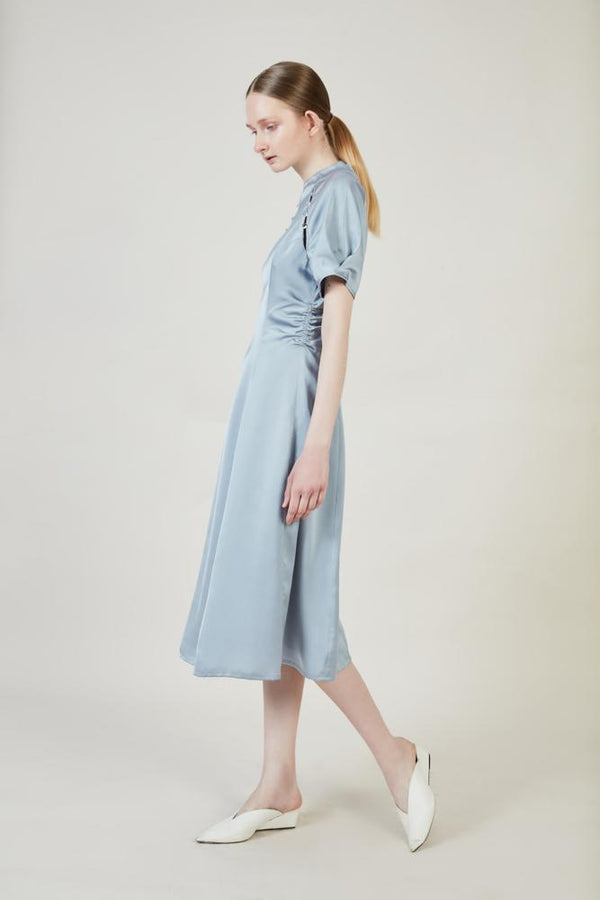 Dress With Drape - BLANCORE