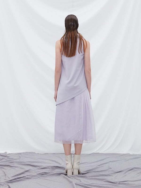 Shirt Dress With Pleats - BLANCORE