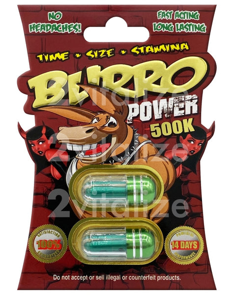 Burro Power 500K Twin Pack Shop