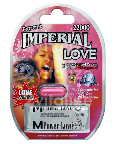 Imperial Love 22000 Extreme W/ Condom
