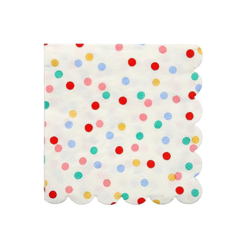 Toot Sweet Spotty Small Napkins