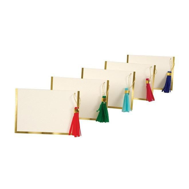 Tassel Placecards S/10