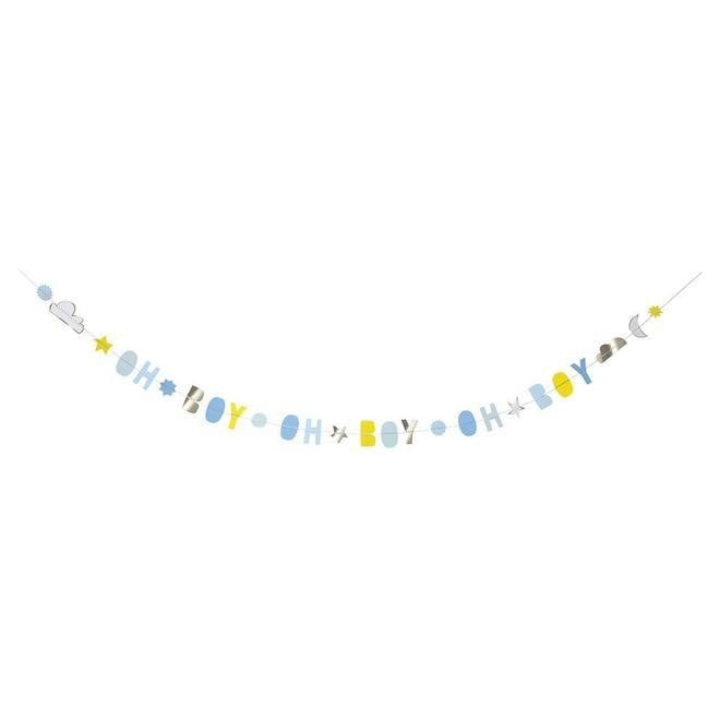 Waterlemon Kids - Baby Boy Garland Card - Card