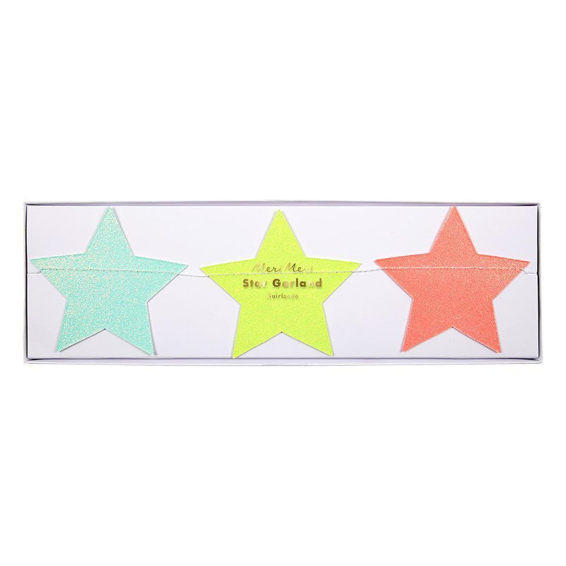 Multi colored Star Garland