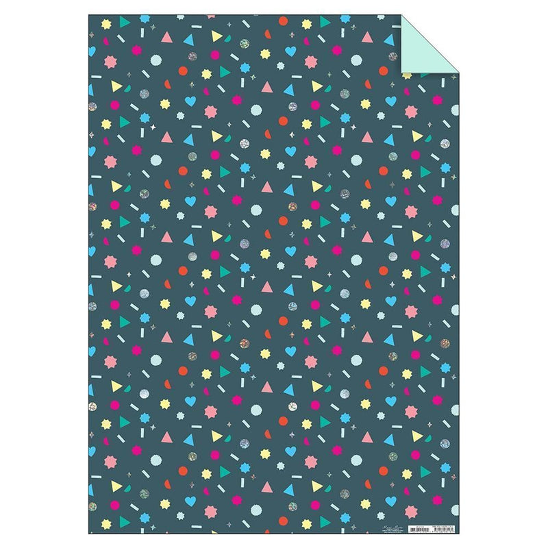Geometric Shapes Sheet Wrap