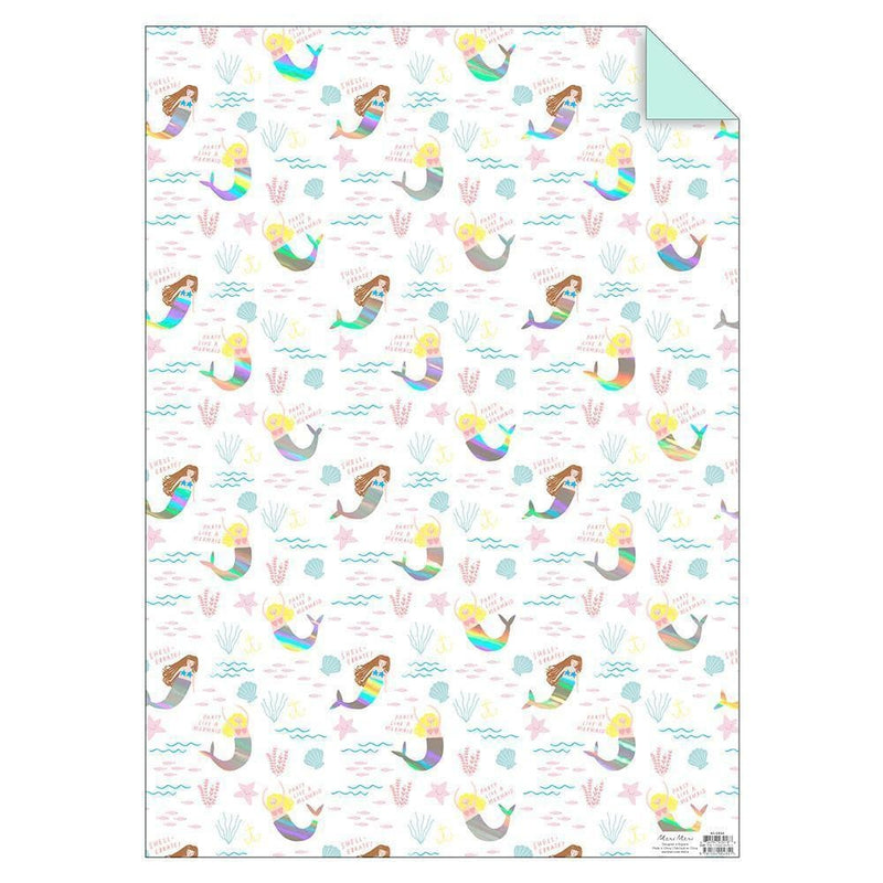 Mermaid Sheet Wrap