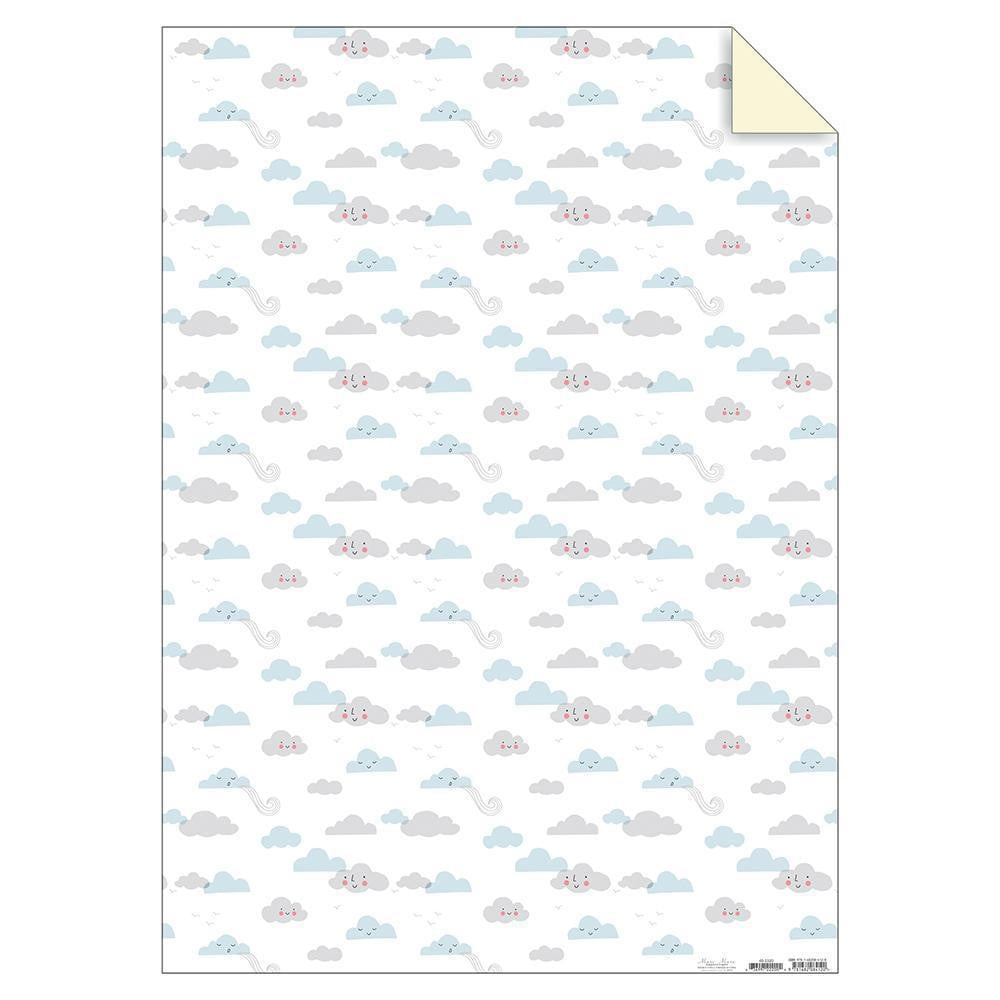Waterlemon Kids - Clouds Sheet Wrap - Gift Wrap