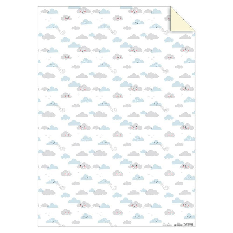 Clouds Sheet Wrap