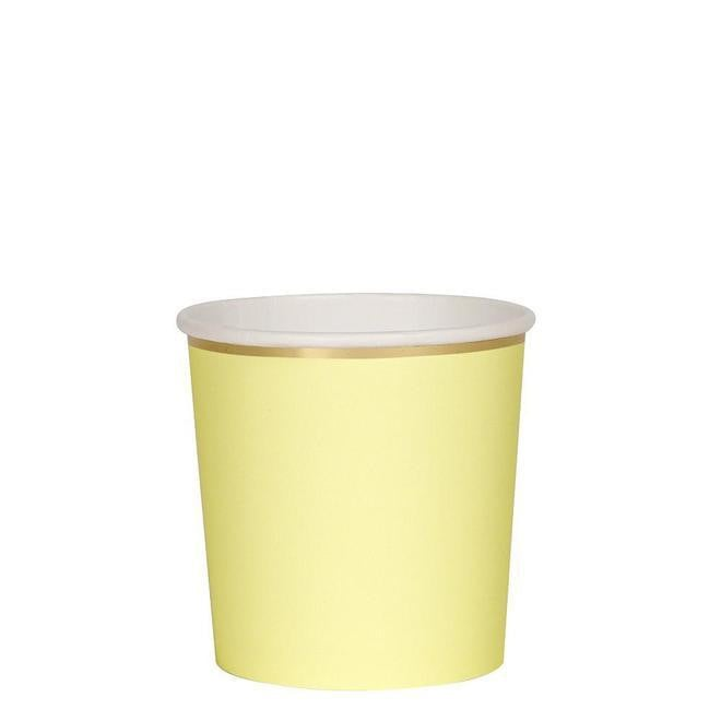 Pale Yellow Tumbler Party Cups