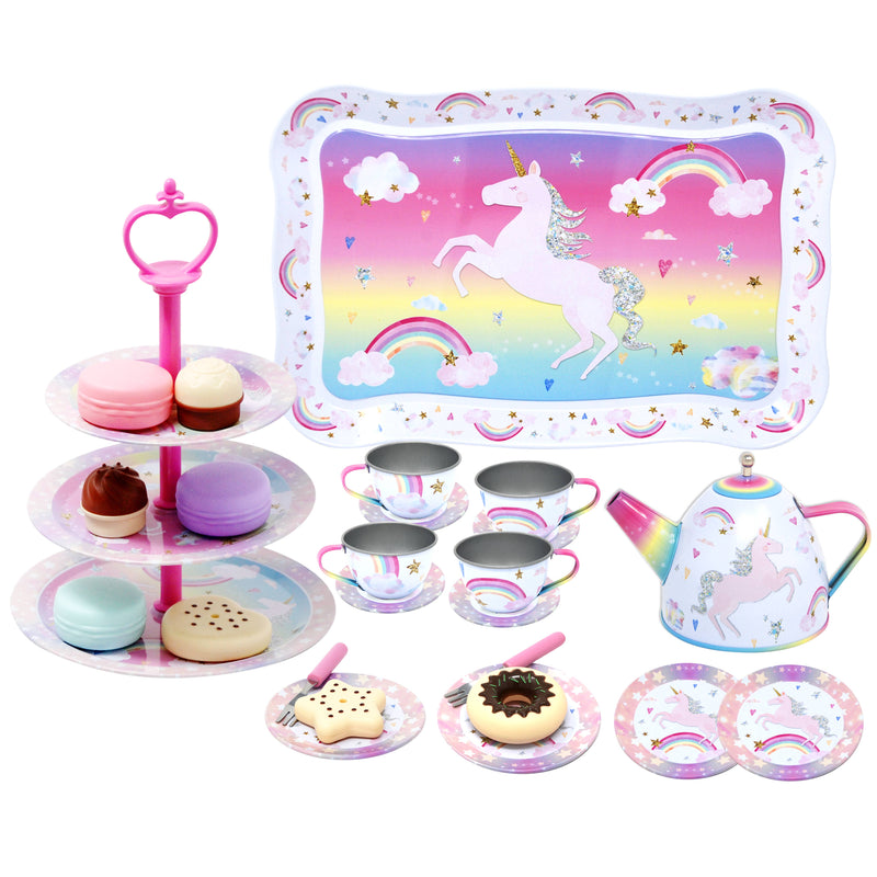 Cotton Candy Dreams High Tea Set
