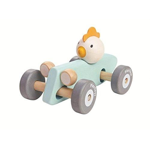 Waterlemon Kids, Plan Toys, Chicken Racing Car, Toy, Toy, Toys, Wood Toy