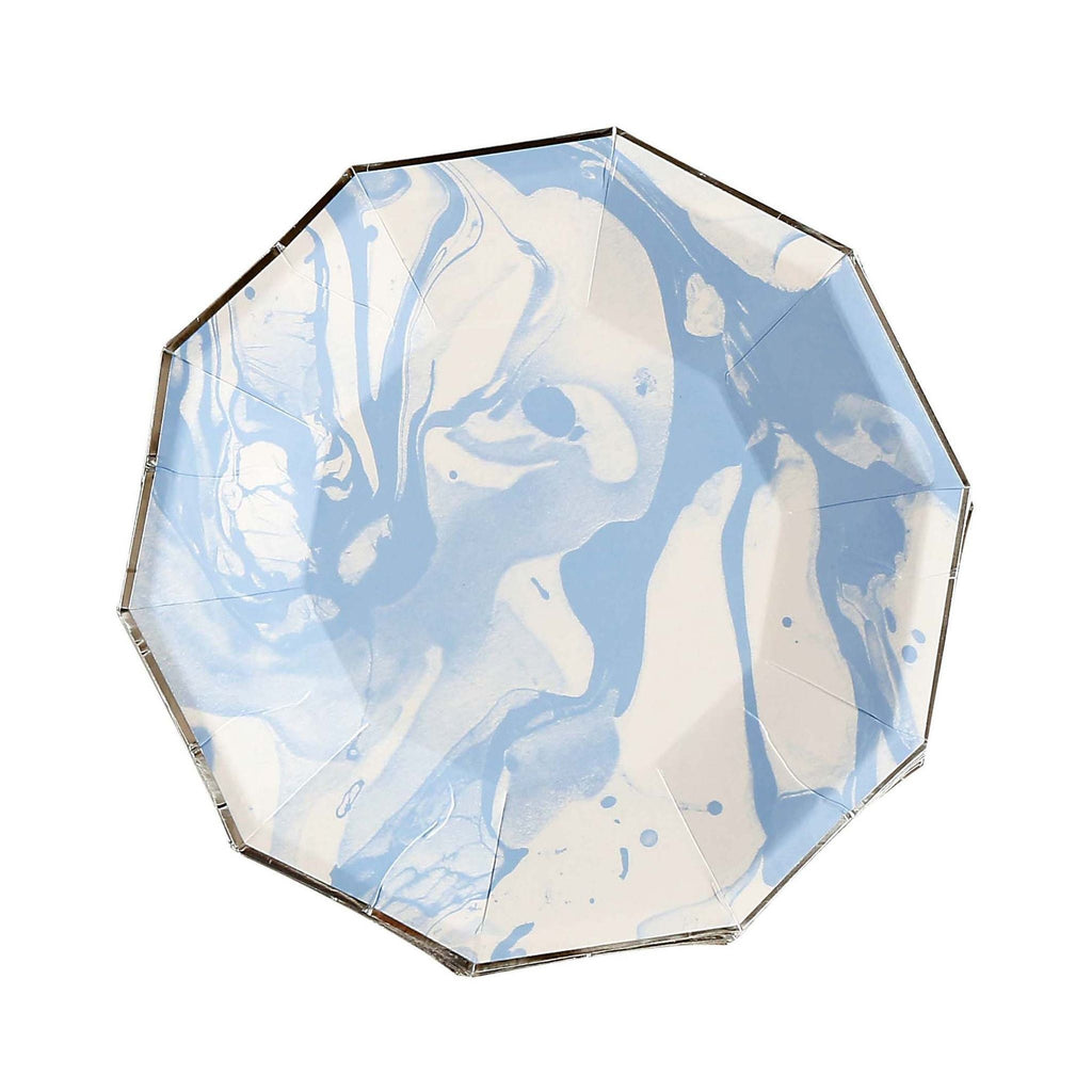 Waterlemon Kids - Blue Marble Plate Large - Plate