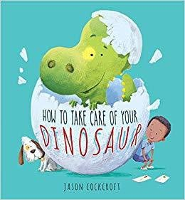 How to Take Care of Your Dinosaur Book - Waterlemon Kids