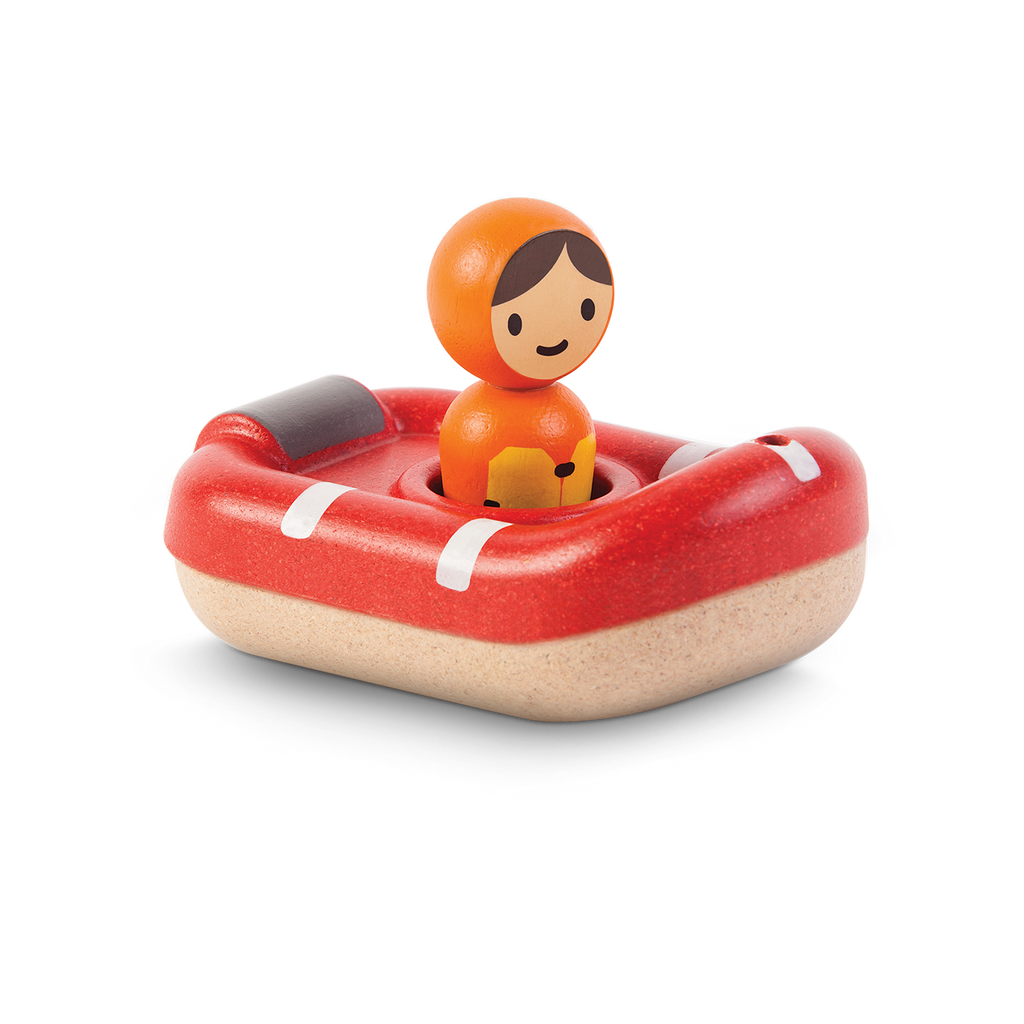 Waterlemon Kids, Plan Toys, Coast Guard Boat, Toy, Boat, Toy, Toys, Wood Toy