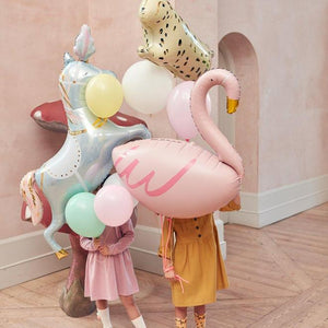 "Helium Foil Balloon- 38"" Flamingo"