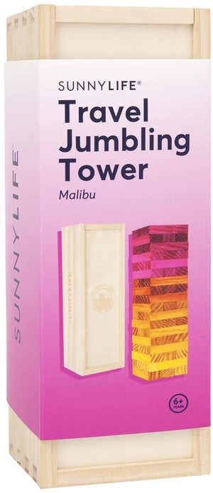 Travel Jumbling Tower - Malibu