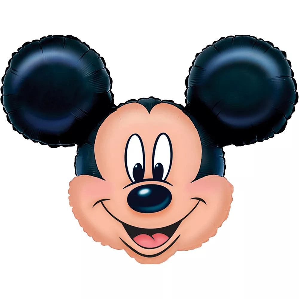 "Helium Foil Balloon- 27"" Mickey Mouse Head"