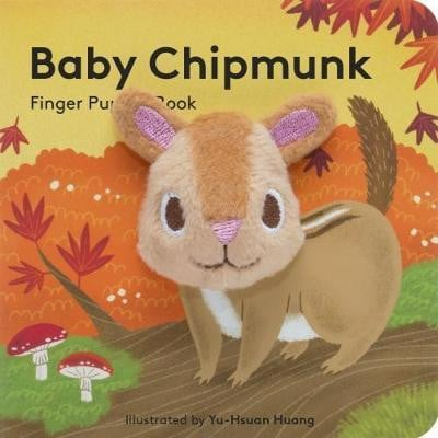 Waterlemon Kids - Baby Chipmunk Finger Book - Book