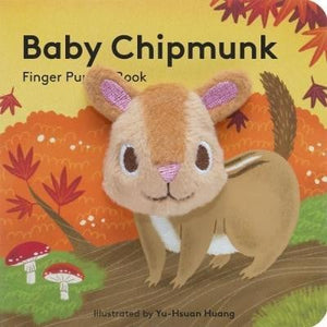 Baby Chipmunk Finger Book - Waterlemon Kids - Book
