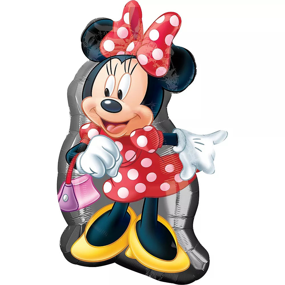 "Helium Foil Balloon- 31"" Minnie Mouse Full Body"