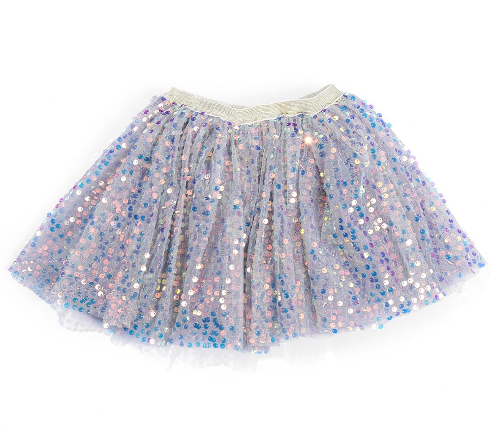 Tutu- Blue Mermaid Sequin