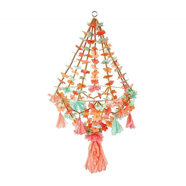 Large Pajaki Paper Chandelier