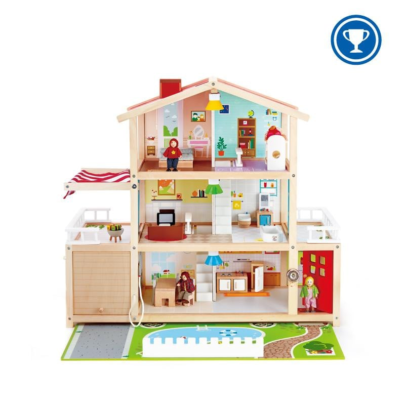 Waterlemon Kids - Doll Family Mansion - Toy