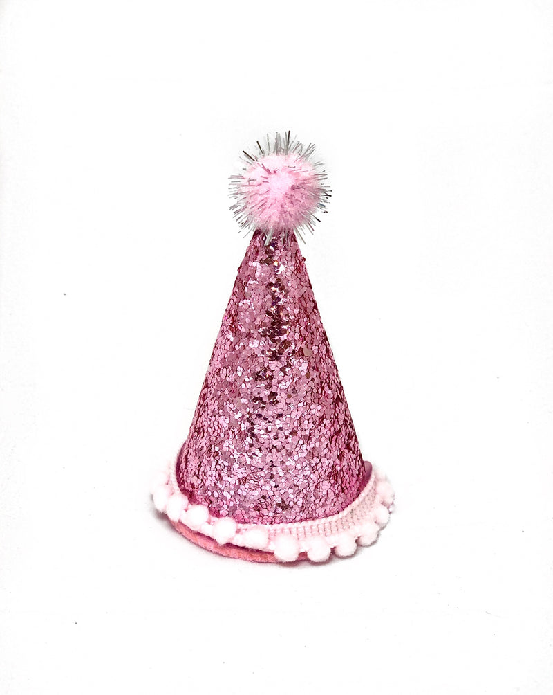 Party Cone Hat- Pink