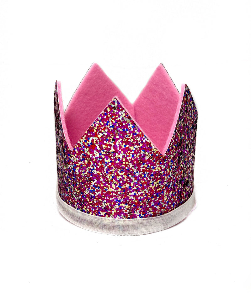 Glitter Crown- Confetti