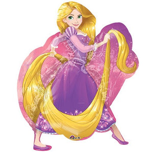 "Helium Foil Balloon- 31"" Rapunzel Supershape"
