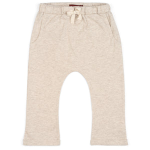 Organic Jogger Heather Oatmeal