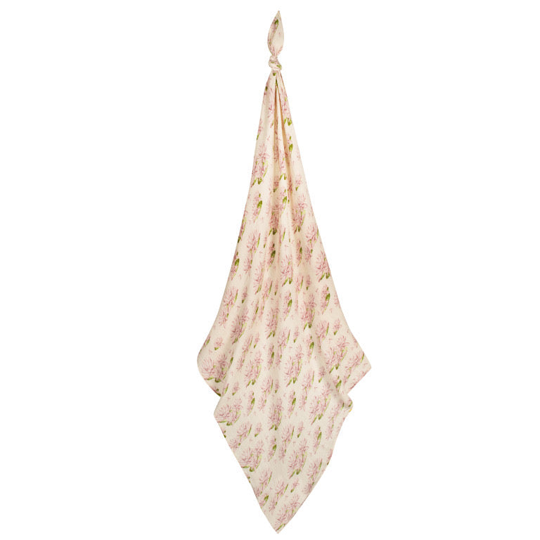 Bamboo Swaddle- Water Lily