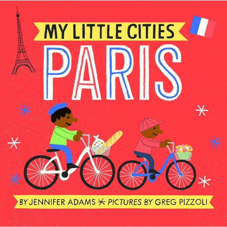 My Little Cities Book- Paris