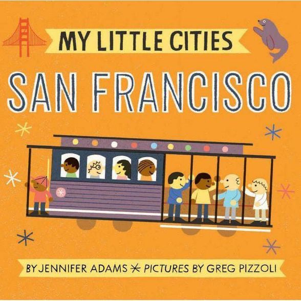 My Little Cities Book- San Francisco