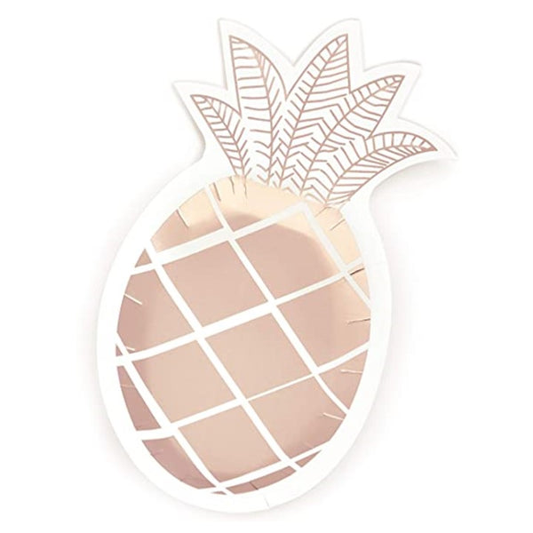 Pineapple Plates- Rose Gold