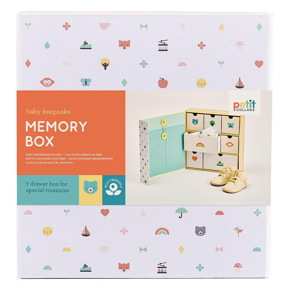 Waterlemon Kids, Petit Collage, Baby Memory Box, Memory Box, Memory Box, Toy, Toys, Wood Toy