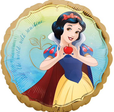 "Helium Foil Balloon= 18"" Snow White Once Upon a Time"