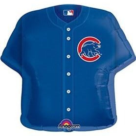"Helium Foil Balloon- 24"" Chicago Cubs Jersey"