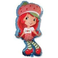 "Helium Foil Balloon- 36"" Strawberry Shortcake Full Body"