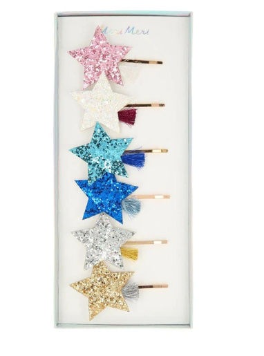 Shooting Star Hair Slides