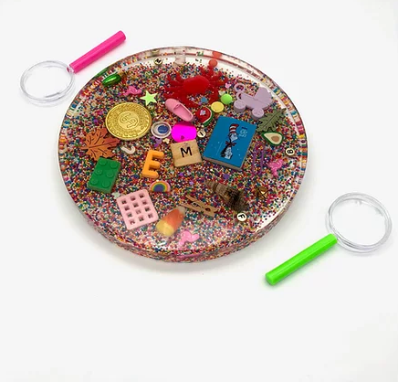 Sparkle & Supply Resin iSpy Circle