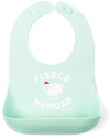 Waterlemon Kids, Bella Tunno, Fleece Navidad Bib, Bib, Baby, Girl, girls, Unisex