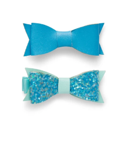 Millie Mini Bow Clip Set- Malibu Mix